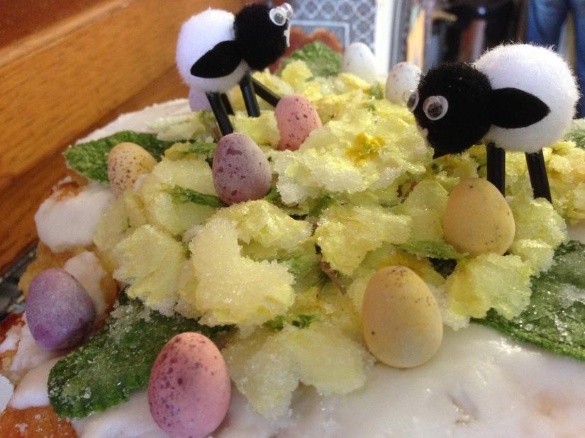 Faye's Easter LemonCake